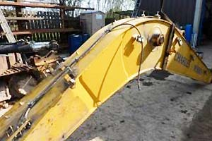 Repair and strengthening of CAT 312 Boom